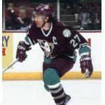 Mighty Ducks of Anaheim (2006) Scott Niedermayer wearing Mighty Ducks of Anaheim home purple uniform during 2005/06 season