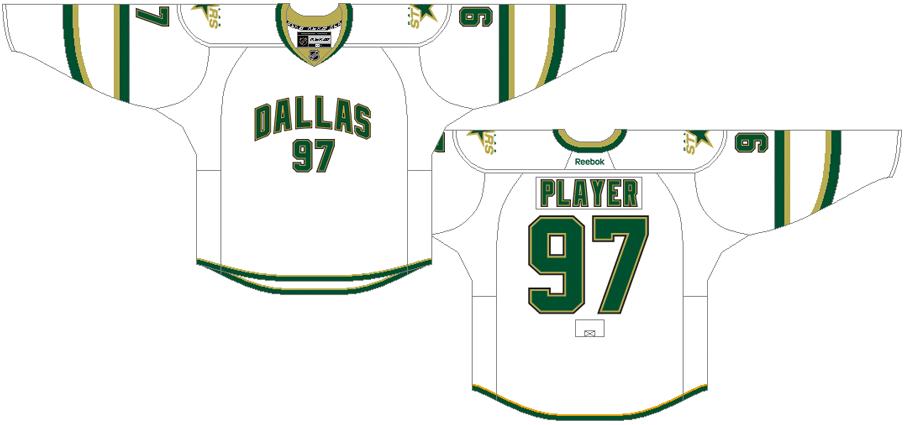 Dallas Stars Uniform Light Uniform (2011/12-2012/13) -  SportsLogos.Net