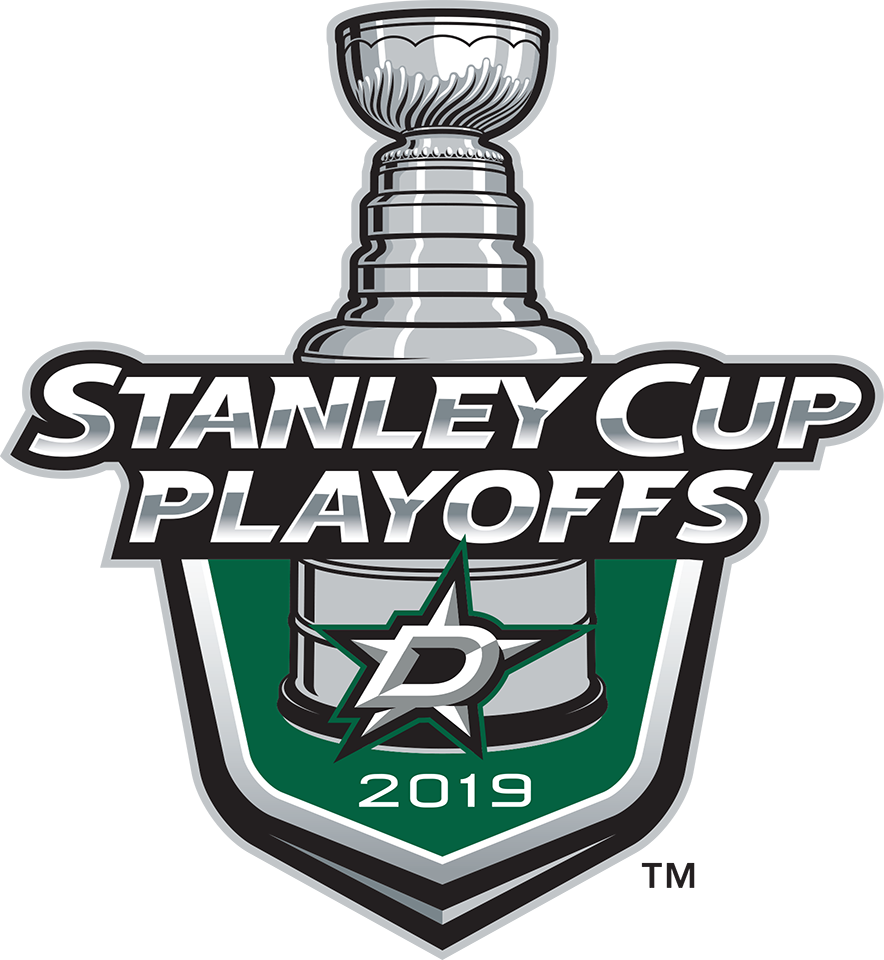 Dallas Stars Logo Event Logo (2018/19) - Dallas Stars 2019 Stanley Cup Playoffs Logo SportsLogos.Net