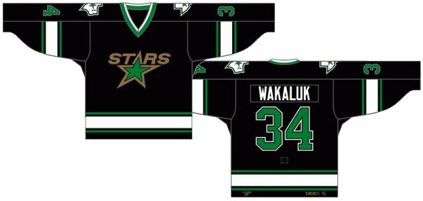 Dallas Stars Uniform Dark Uniform (1993/94) -  SportsLogos.Net