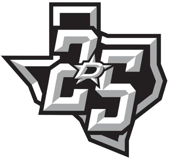 Dallas Stars Logo Anniversary Logo (2016/17) - Dallas Stars 25th Anniversary in Dallas logo SportsLogos.Net