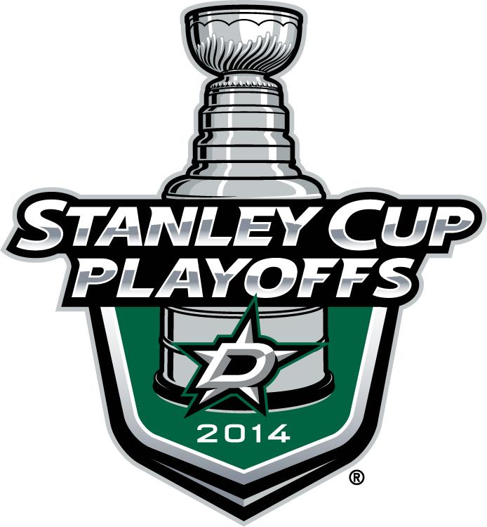 Dallas Stars Logo Event Logo (2013/14) - Dallas Stars 2014 Stanley Cup Playoffs Logo SportsLogos.Net