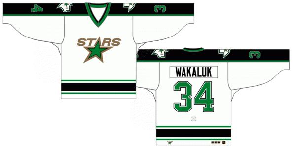 Dallas Stars Uniform Light Uniform (1993/94) -  SportsLogos.Net