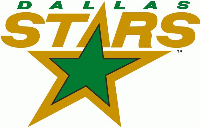 Dallas Stars Logo Primary Logo (1993/94) -  SportsLogos.Net