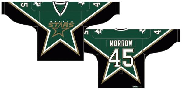 Dallas Stars Uniform Dark Uniform (1999/00-2006/07) -  SportsLogos.Net