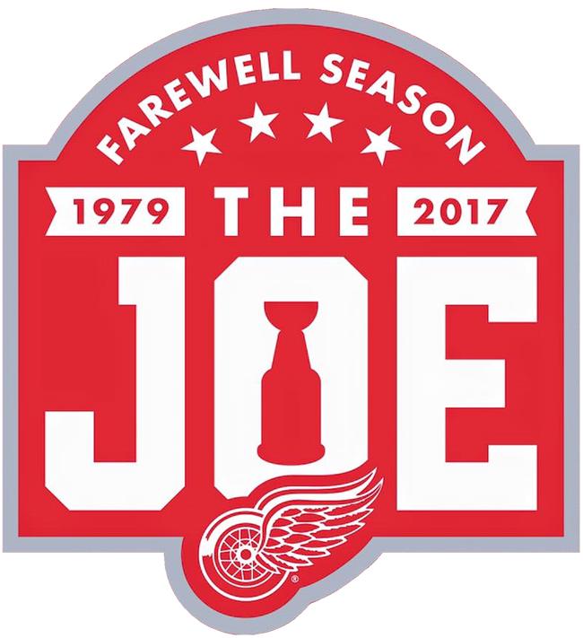 Detroit Red Wings Logo Anniversary Logo (2016/17) -  SportsLogos.Net