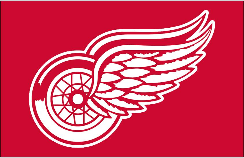 Detroit Red Wings Logo Jersey Logo (1982/83) - Worn on front of Detroit Red Wings road red jersey during 1982-83 season only SportsLogos.Net