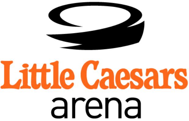 Detroit Red Wings Logo Stadium Logo (2017/18-Pres) - Little Caesars Arena SportsLogos.Net