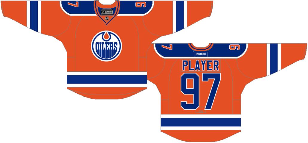 Edmonton Oilers Uniform Alternate Uniform (2015/16-2016/17) -  SportsLogos.Net