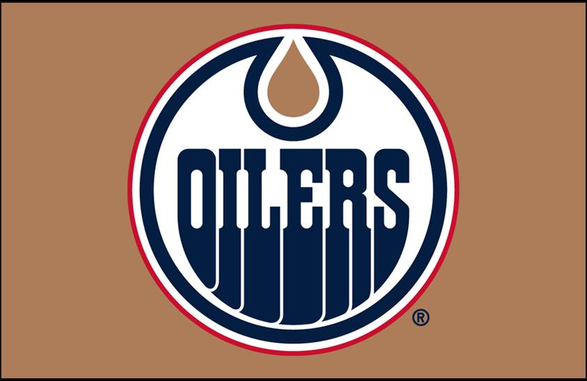 Edmonton Oilers Logo Primary Dark Logo (1996/97-2010/11) - Edmonton Oilers primary logo on copper SportsLogos.Net