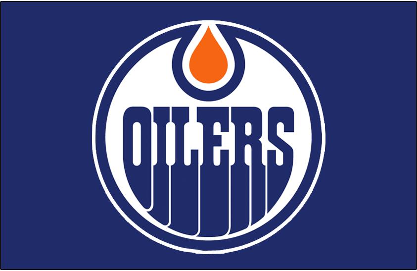 Edmonton Oilers Logo Jersey Logo (1979/80-1985/86) - Worn on front of the Edmonton Oilers road blue jersey from 1979-80 until 1985-86 SportsLogos.Net