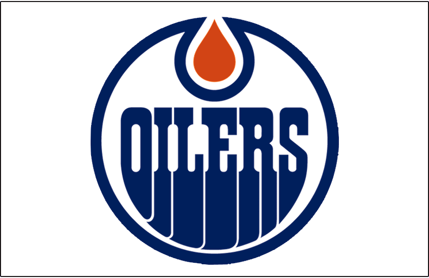 Edmonton Oilers Logo Jersey Logo (2011/12-2016/17) - Worn on front of the Edmonton Oilers white road jersey starting in 2011-12 SportsLogos.Net