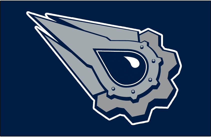 Edmonton Oilers Logo Jersey Logo (2001/02-2006/07) - Worn on front of the Edmonton Oilers blue and grey alternate jersey from 2001-02 through 2006-07 SportsLogos.Net