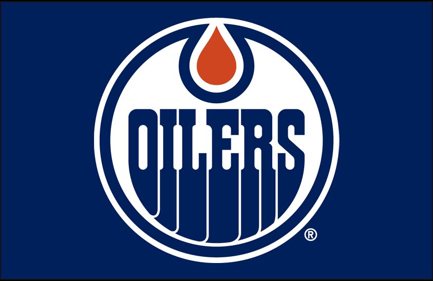 Edmonton Oilers Logo Primary Dark Logo (2011/12-2016/17) - Edmonton Oilers primary logo on blue SportsLogos.Net