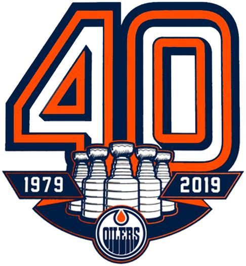 Edmonton Oilers Anniversary Logo - National Hockey League (NHL ... 78e83515e