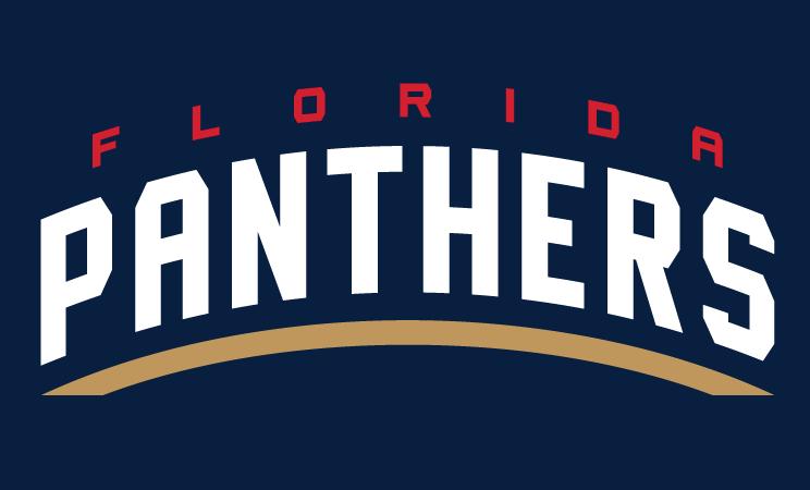 Florida Panthers Logo Wordmark Logo (2016/17-Pres) -  SportsLogos.Net