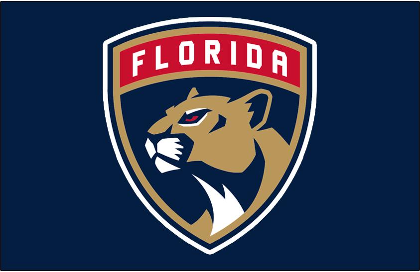 Florida Panthers Logo Primary Dark Logo (2016/17-Pres) -  SportsLogos.Net