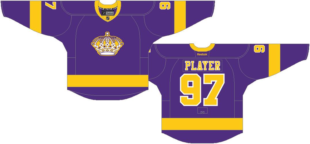 Los Angeles Kings Uniform Throwback Uniform (2011/12-2013/14) -  SportsLogos.Net
