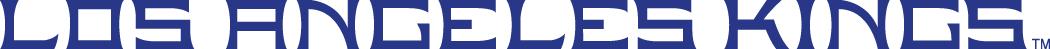 Los Angeles Kings Logo Wordmark Logo (1998/99-2010/11) - Los Angeles Kings in purple caps SportsLogos.Net