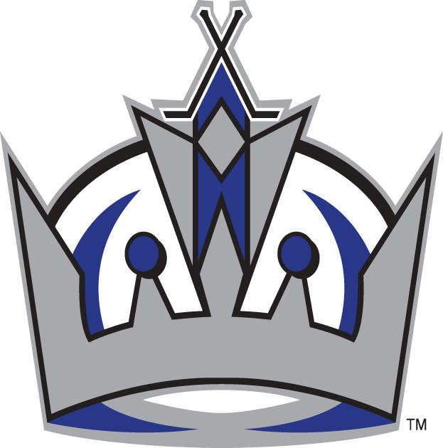 Los Angeles Kings Logo Alternate Logo (1998/99-2010/11) - Simplified version of the Crown logo SportsLogos.Net