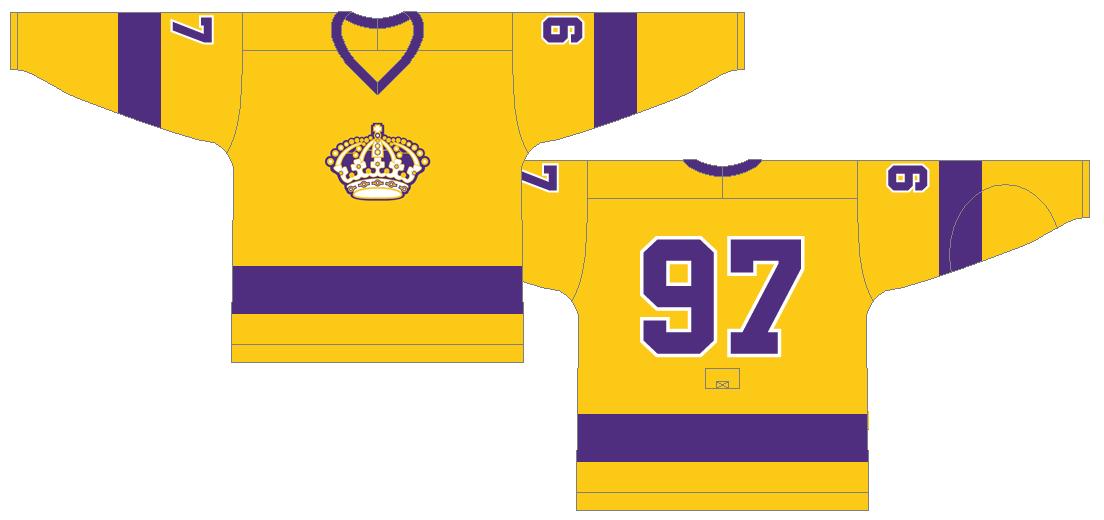 Los Angeles Kings Uniform Light Uniform (1969/70) -  SportsLogos.Net
