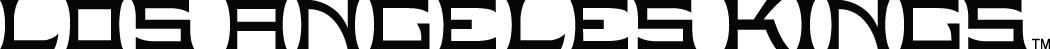 Los Angeles Kings Logo Wordmark Logo (2011/12-Pres) -  SportsLogos.Net