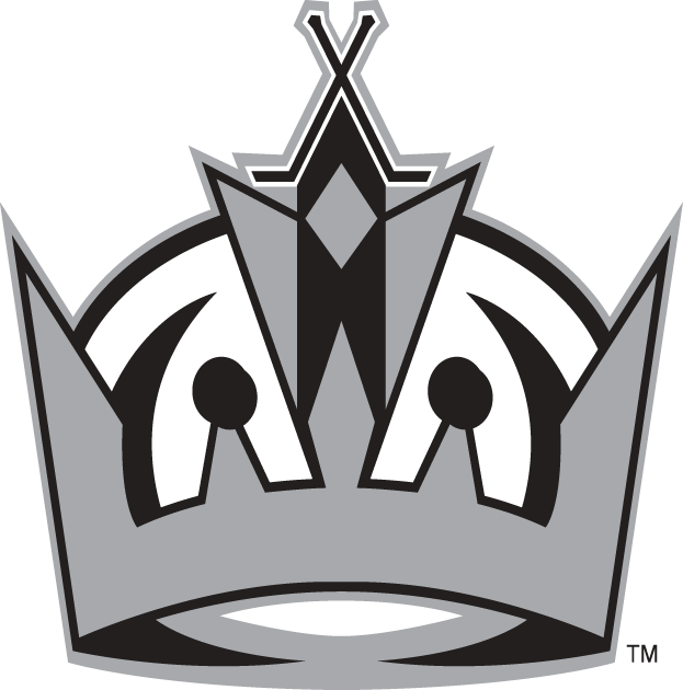 Los Angeles Kings Logo Alternate Logo (2011/12-Pres) - Simplified version of the Crown logo SportsLogos.Net
