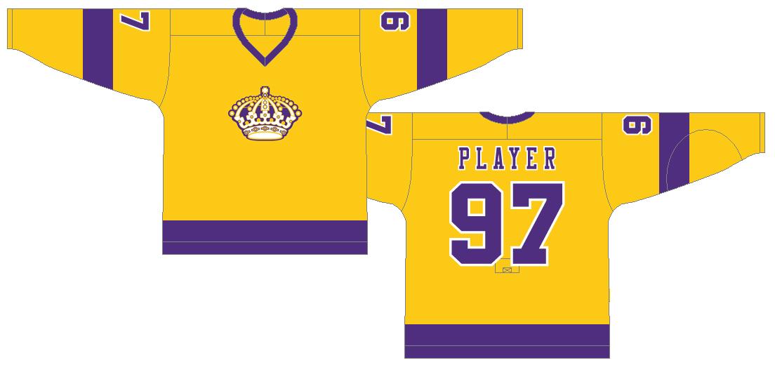 Los Angeles Kings Uniform Light Uniform (1970/71-1979/80) -  SportsLogos.Net