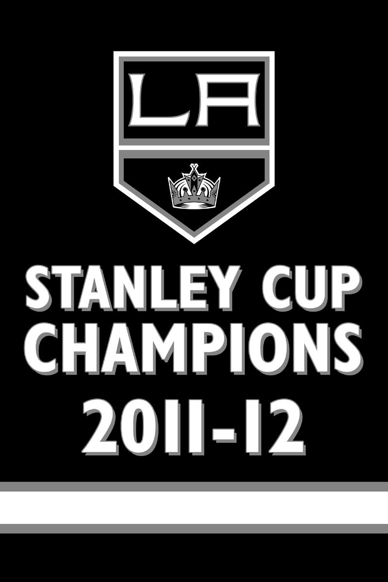 Los Angeles Kings Championship Banner Championship Banner (2011/12) - Los Angeles Kings 2012 Stanley Cup Champions Banner SportsLogos.Net