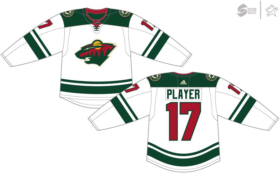timeless design 74d5b 5ce4e Minnesota Wild Light Uniform - National Hockey League (NHL ...
