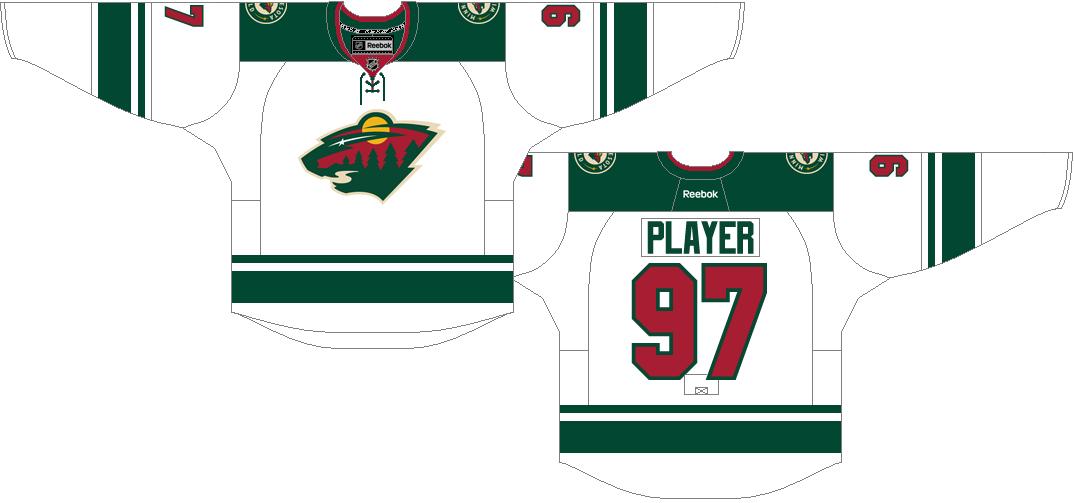 Minnesota Wild Uniform Light Uniform (2013/14-2016/17) -  SportsLogos.Net