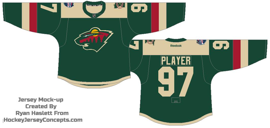 Minnesota Wild Uniform Special Event Uniform (2015/16) - 2016 NHL Stadium Series jersey SportsLogos.Net