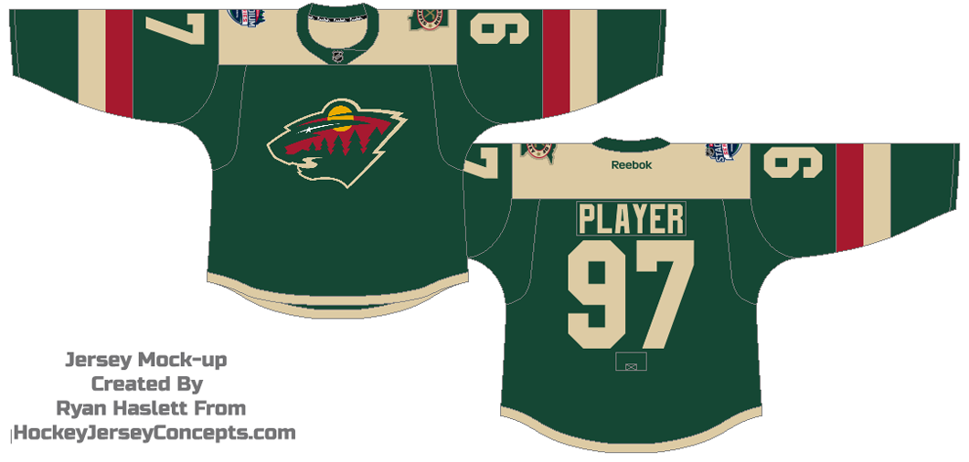 best website 653c0 a3a52 Minnesota Wild Special Event Uniform - National Hockey ...