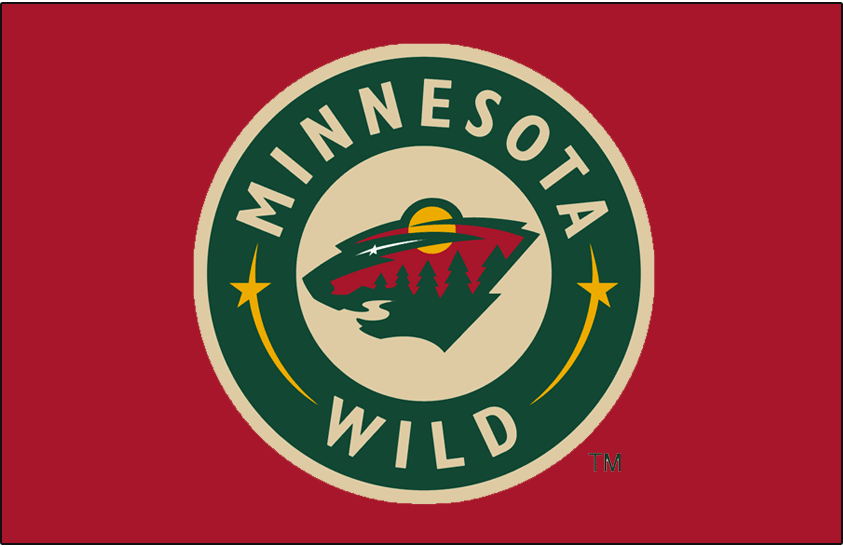 Minnesota Wild Logo Jersey Logo (2003/04-2016/17) - Worn on the front of the Minnesota Wild red alternate jersey from 2003-04 until 2006-07, promoted to home red jersey starting in 2007-08 season SportsLogos.Net