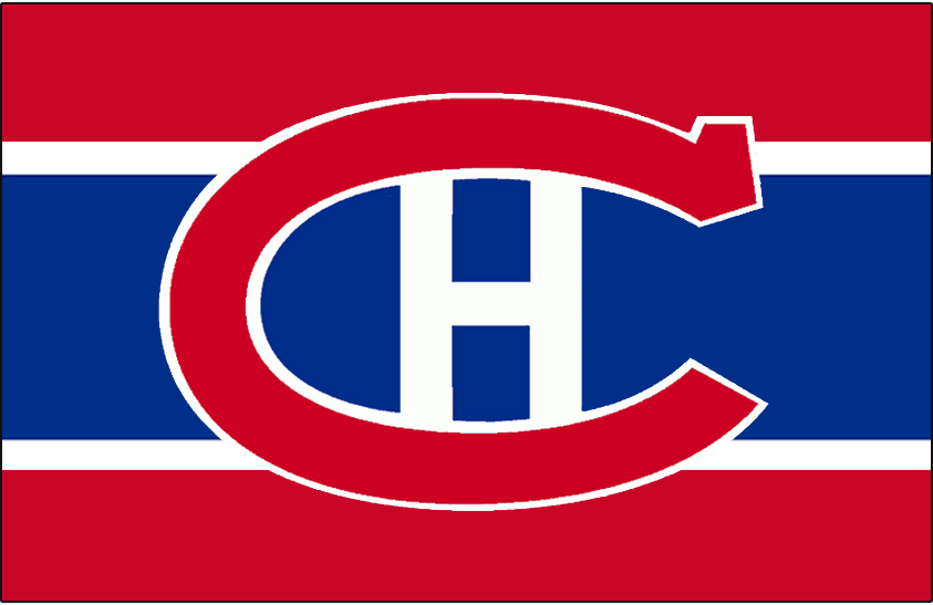 Montreal Canadiens Logo Jersey Logo (1925/26-1931/32) - Worn on front of Montreal Canadiens red, white, and blue uniform from 1925-26 until 1931-32 SportsLogos.Net