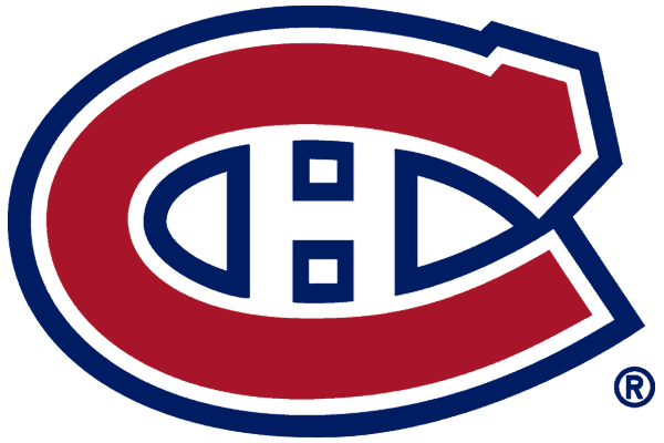 Montreal Canadiens Logo Primary Logo (1999/00-Pres) - A red C outlined in white, and blue, with an H inside, shades of red and blue darkened for the 1999-2000 season SportsLogos.Net