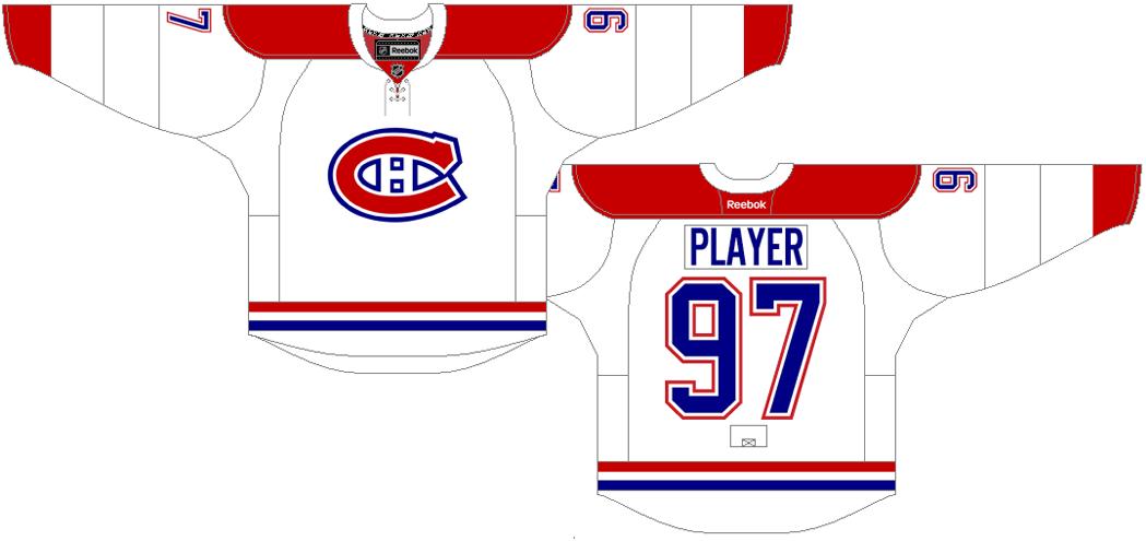 Montreal Canadiens Uniform Light Uniform (2015/16-2016/17) -  SportsLogos.Net