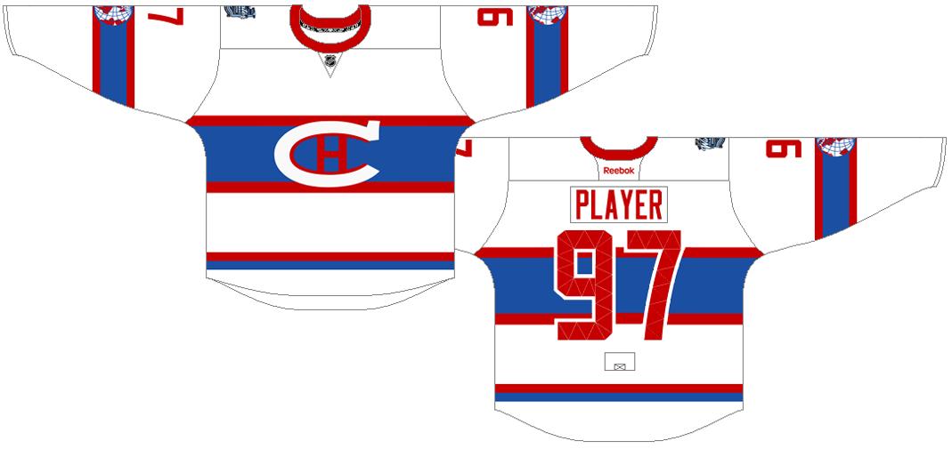 Montreal Canadiens Uniform Special Event Uniform (2015/16) - 2016 Winter Classic jersey SportsLogos.Net