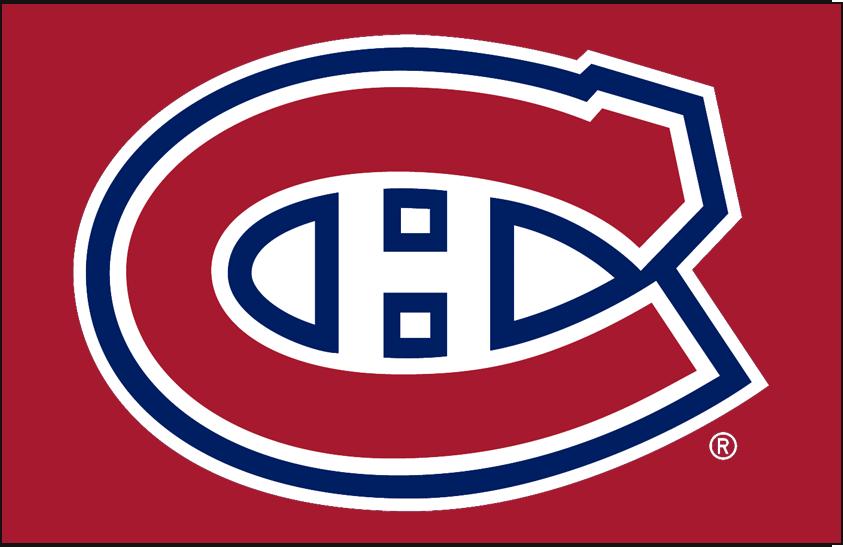 Montreal Canadiens Logo Primary Dark Logo (1999/00-Pres) - The iconic Montreal Canadiens logo is a red C for Canadiens with white and blue trim and a white H for Hockey. The logo has been used by the Habs (with minor changes) since 1917. For the 1999-2000 season the Canadiens darkened the shade of red and blue on the logo. Le logo emblématique des Canadiens de Montréal est un C rouge pour les Canadiens avec une bordure blanche et bleue et un H blanc pour le hockey. Le logo est utilisé par le Tricolore (avec des changements mineurs) depuis 1917. Pour la saison 1999-2000, les Canadiens ont assombri la nuance de rouge et de bleu sur le logo. SportsLogos.Net