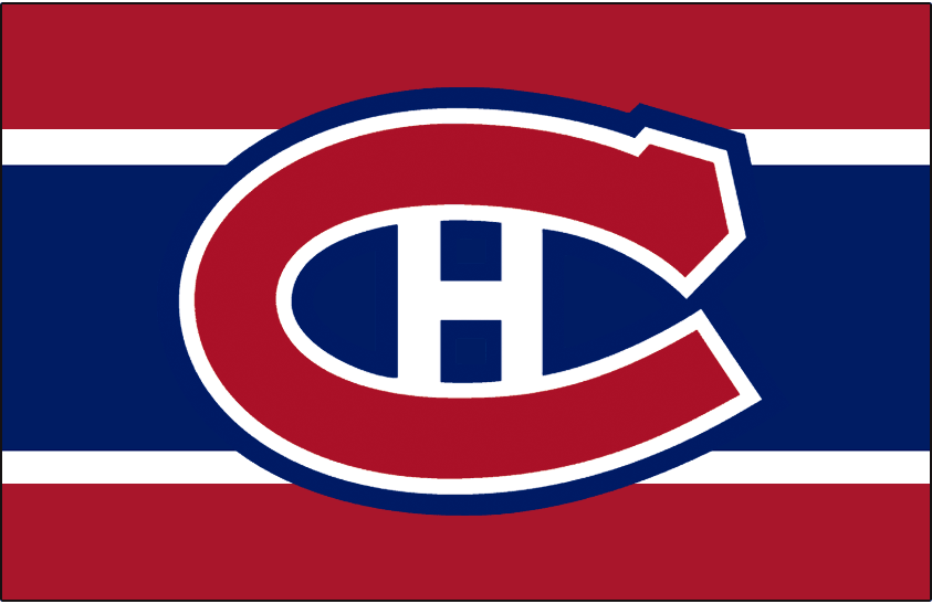 Montreal Canadiens Logo Jersey Logo (1999/00-Pres) - Worn on front of Montreal Canadiens red, white, and blue home jersey starting in 1999-2000 season SportsLogos.Net