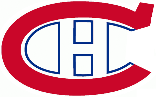 Montreal Canadiens Logo Primary Logo (1922/23-1924/25) - A red C with an H in the middle SportsLogos.Net