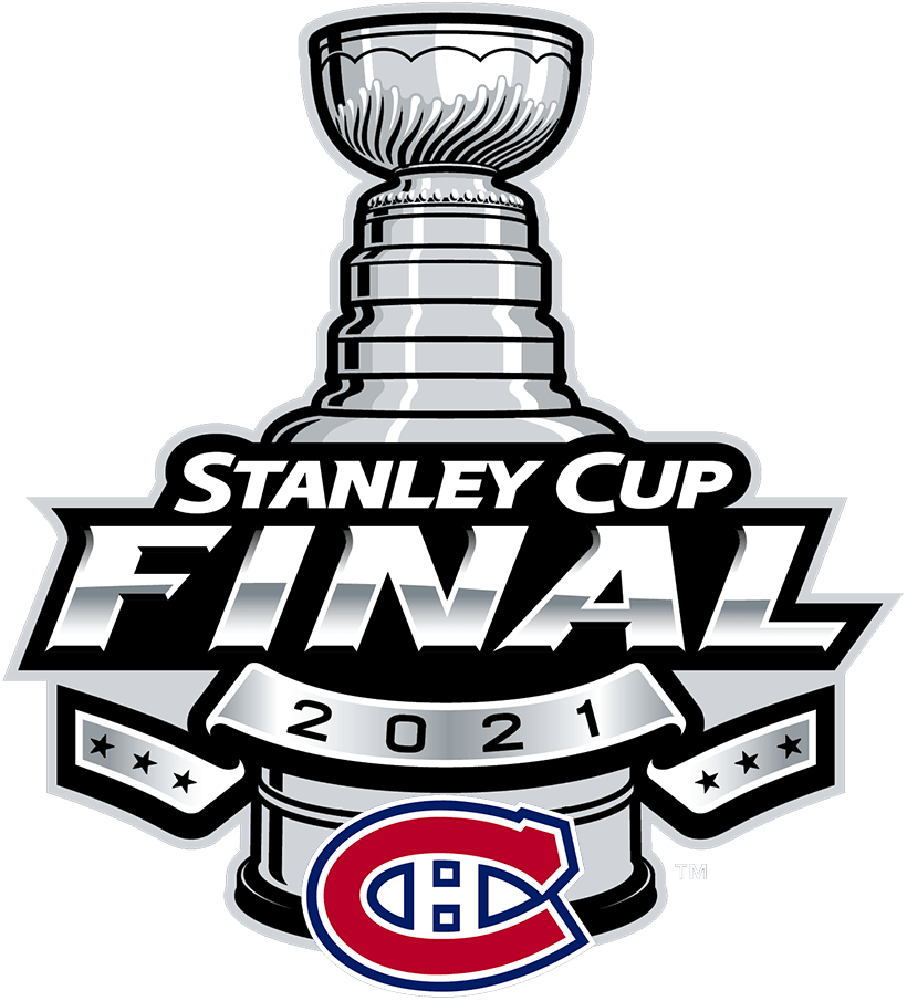Montreal Canadiens Logo Event Logo (2020/21) - Montreal Canadiens 2021 Stanley Cup Final logo SportsLogos.Net