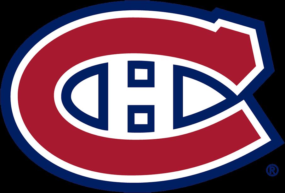Montreal Canadiens Logo Primary Logo (1999/00-Pres) - The iconic Montreal Canadiens logo is a red C for Canadiens with white and blue trim and a white H for Hockey. The logo has been used by the Habs (with minor changes) since 1917. For the 1999-2000 season the Canadiens darkened the shade of red and blue on the logo. Le logo emblématique des Canadiens de Montréal est un C rouge pour les Canadiens avec une bordure blanche et bleue et un H blanc pour le hockey. Le logo est utilisé par le Tricolore (avec des changements mineurs) depuis 1917. Pour la saison 1999-2000, les Canadiens ont assombri la nuance de rouge et de bleu sur le logo. SportsLogos.Net