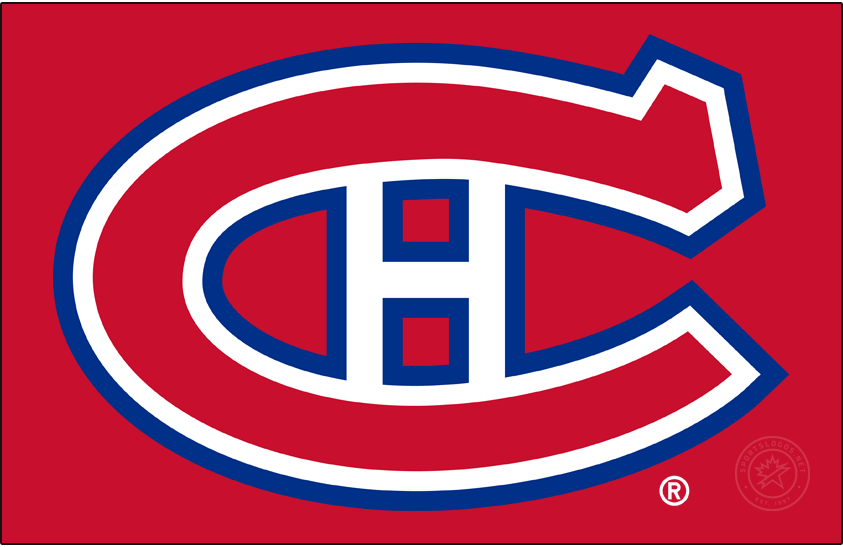 Montreal Canadiens Logo Primary Dark Logo (1932/33-1946/47) -  SportsLogos.Net