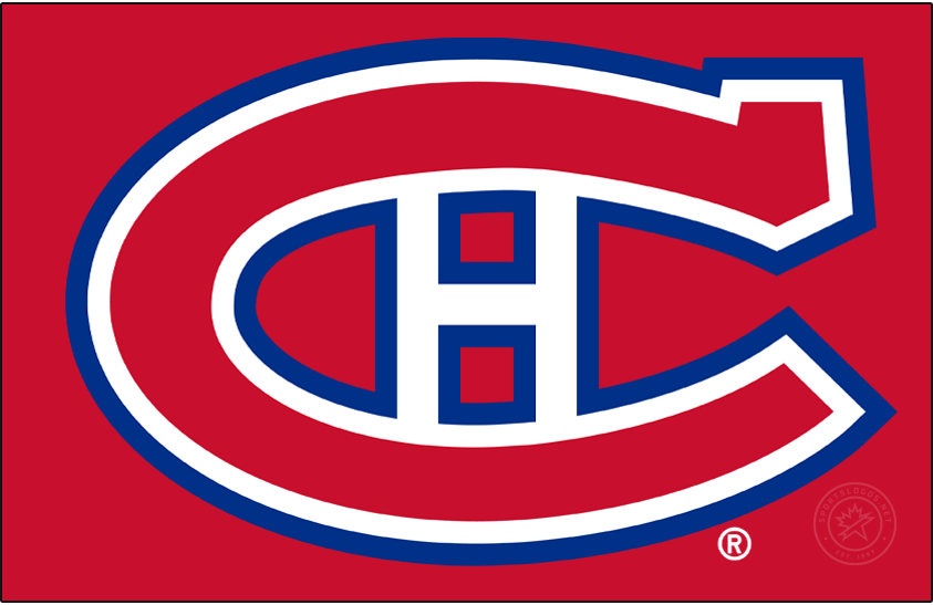 Montreal Canadiens Logo Primary Dark Logo (1947/48-1955/56) -  SportsLogos.Net