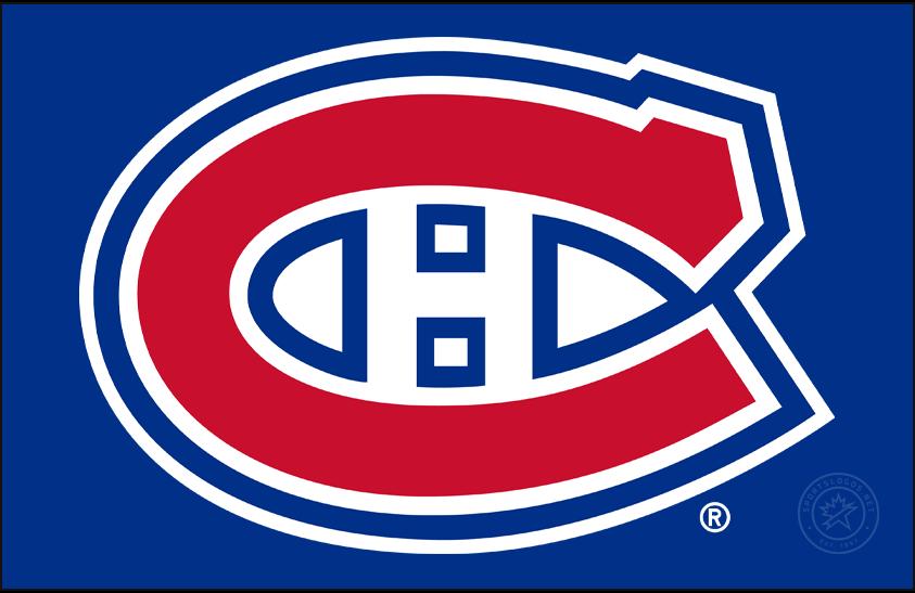 Montreal Canadiens Logo Primary Dark Logo (1956/57-1998/99) -  SportsLogos.Net