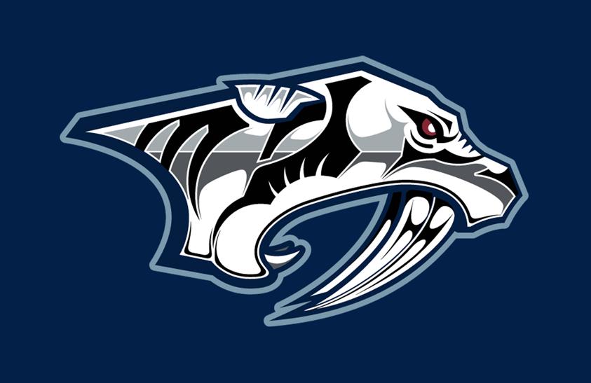Nashville Predators Logo Jersey Logo (2009/10-2010/11) - Alternate jersey crest SportsLogos.Net
