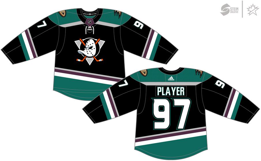 Anaheim Ducks Uniform Alternate Uniform (2018/19) -  SportsLogos.Net