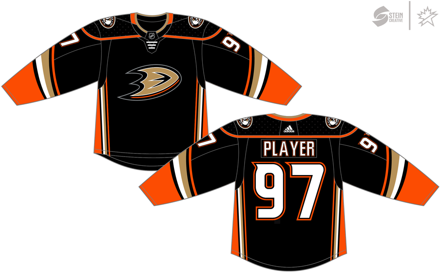new arrival 134d9 88800 Anaheim Ducks Dark Uniform - National Hockey League (NHL ...