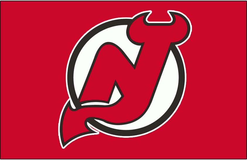 New Jersey Devils Logo Jersey Logo (1999/00-Pres) - Worn on New Jersey Devils dark jersey since 1999-2000 season SportsLogos.Net